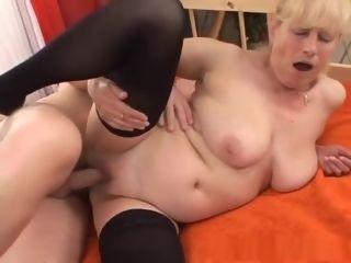 Exotic pornostar in naughty furry, fishnet porno pinch