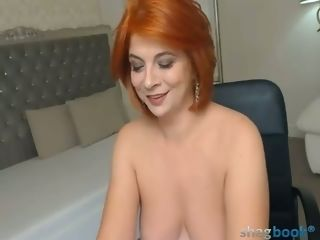 Mature Ms.Jazzelle four (As A Redhead)