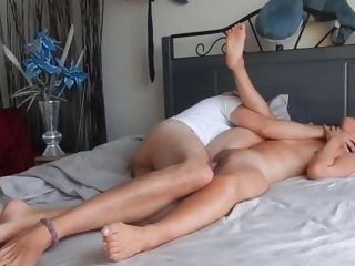'Can unexperienced japanese cougar Marie takes Maestro's meaty fuckpole in her honeypot?'