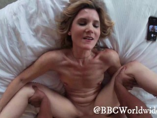 'GoPro point of view towheaded wifey nails bbc in Front of bf (Cum Countdown)'