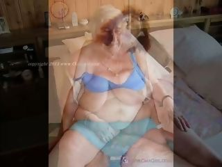 OmaGeiL superannuated clumsy Granny Slideshow Compilation