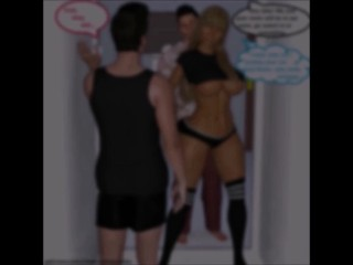 ThreeD Comic: Taboo Step mommy Cuckolds sonnie For father gig three