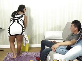 Sogra safada transando com seu genro novinho