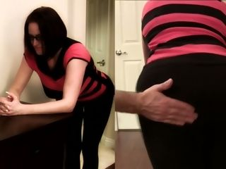I smack my luxurious wifey in luxurious undies