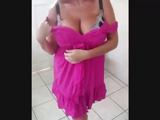 Gran with massive splendid bra-stuffers
