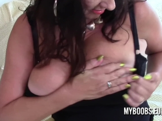 Buxomy milf Lulu round fap and Jerk Off Instructions