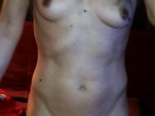 Selfie dancing nude 2