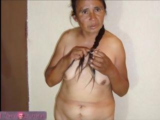 Latina grandmother hard-core bevy