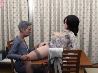 Mrs. Taeko and the older boy - 3 dimensional pornography movie