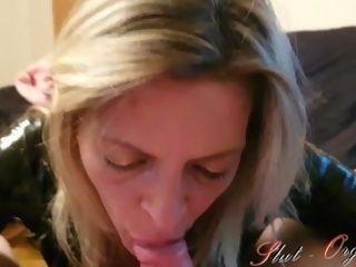 'Whore Slut-Orgasma Celeste Just a filthy throatjob'