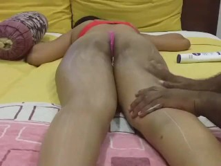 'Indian cuckold wifey rubdown and Fuck'