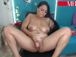 Red-hot COLOMBIAN cougar jizzes FOR MY manmeat