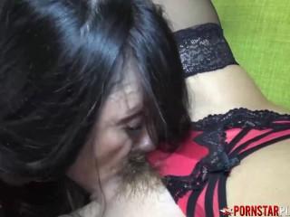 PORNSTARPLATINUM lezzy fuck-a-thon Mindi Mink And Ariella Ferrera