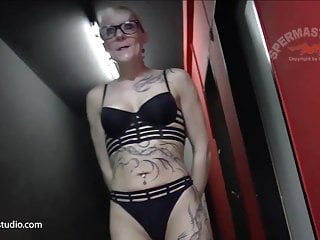 Spunk For sloppy cougar bitch Klara - Sperma-Studio - 10430