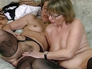 Extraordinary rough girly-girl grannie fuck stick sharing
