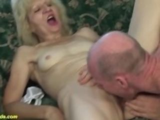 """ugly 83 years elder mother meaty manhood fucked"""
