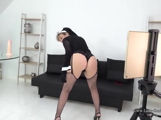 Doll Sonia is one wild and horny nun