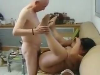 Chinese Granny Neighbour Gets Fucked hard by Chinese Grandpa