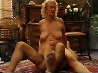 Super-naughty first-timer movie with grandmas, blondie sequences