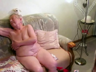 OmaGeiL almost Hundred Years senior grandmother nude