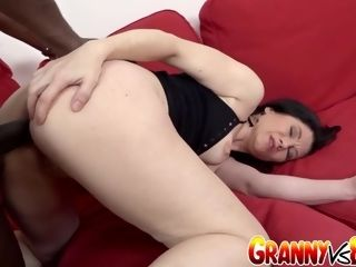 Grandma Vs big black cock senior culofuck mega-bitch Niky Gives Her culo an bi-racial screwing