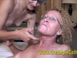 Internal cumshot hook-up Orgy