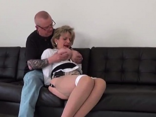 Unfaithful english mature dame sonia uncovers her gigantic bap