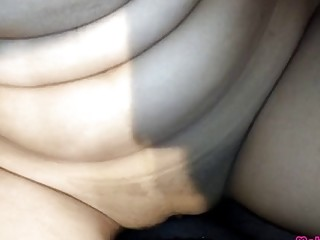 Deliveroo stud pounds lonely bhabhi at home, Hindi audio