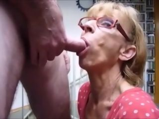 Granny blows