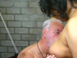 Gorgeous inexperienced Oldie pornography vid