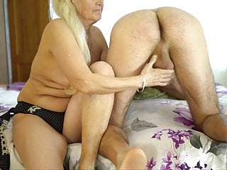 Grannie enjoys voluptuous grease rubdown with youthfuller men. Gilf Vs youthfull
