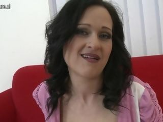 Super-steamy huge-chested cougar gargling And screwing In point of view fashion - MatureNL