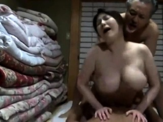 Japanese breast full-grown Fucked