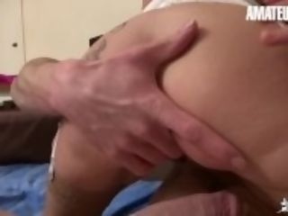 """inexperiencedEuro - huge-chested French inexperienced mummy rails Her sonny youthful Cock"""