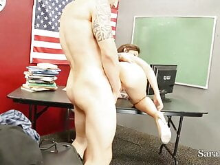Yankee instructor Sara Jay Gets Her French Student's Baguette
