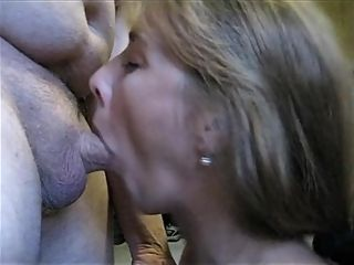 Real hothousewife super-bitch housewife blows stranger and gets face and mouth penetrated