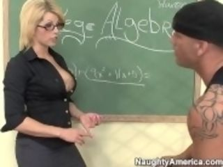 """""""Naughty America - Find Your dream instructor Brooke Haven fucking"""""""