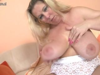 Ample titted plus-size Getting Wet And wild - MatureNL