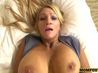Inexperienced breasty housewife point of view