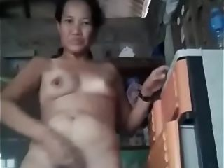 Filipina grandmother banana sucky sucky