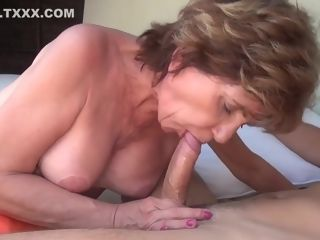 TuttiFrutti - nasty grandmother invites youthfull stud