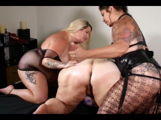 Whorish stepmother instructed A LESSON BY ?�?2 BBWS
