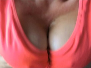 Red-hot greased up cougar titfuck in a sports brassiere until humungous fountain of jizm! Humungous brassiere-stuffers!!!