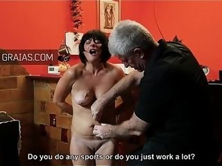 Mature sub nip contorted and pinned