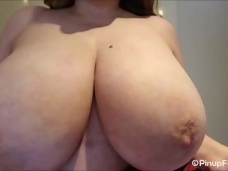 'Watch Sara Willis teasing with her yam-sized bosoms in concentrate webcam'