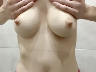 My nips are jizzing