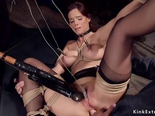 Cougar sub is buggered made enjoy in instructing