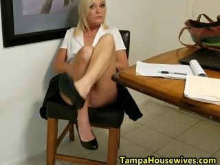 Ms Paris remains WET and nasty at Home and Work