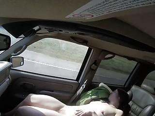 Colorado Springs Mormon Camille sleeps nude in the van