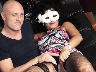 SCAMBISTI MATURI - Romanian mature plowed by Italian dude